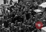 Image of US 16th Armored Division in Pilsen Czechoslovakia Pilsen Czechoslovakia, 1945, second 31 stock footage video 65675077026