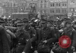Image of US 16th Armored Division in Pilsen Czechoslovakia Pilsen Czechoslovakia, 1945, second 37 stock footage video 65675077026