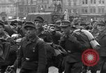 Image of US 16th Armored Division in Pilsen Czechoslovakia Pilsen Czechoslovakia, 1945, second 39 stock footage video 65675077026