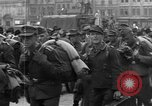 Image of US 16th Armored Division in Pilsen Czechoslovakia Pilsen Czechoslovakia, 1945, second 40 stock footage video 65675077026