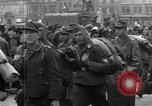 Image of US 16th Armored Division in Pilsen Czechoslovakia Pilsen Czechoslovakia, 1945, second 41 stock footage video 65675077026