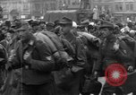 Image of US 16th Armored Division in Pilsen Czechoslovakia Pilsen Czechoslovakia, 1945, second 42 stock footage video 65675077026