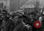 Image of US 16th Armored Division in Pilsen Czechoslovakia Pilsen Czechoslovakia, 1945, second 44 stock footage video 65675077026