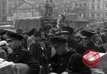 Image of US 16th Armored Division in Pilsen Czechoslovakia Pilsen Czechoslovakia, 1945, second 47 stock footage video 65675077026