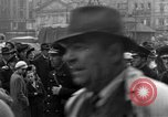 Image of US 16th Armored Division in Pilsen Czechoslovakia Pilsen Czechoslovakia, 1945, second 50 stock footage video 65675077026
