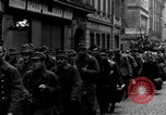Image of US 16th Armored Division in Pilsen Czechoslovakia Pilsen Czechoslovakia, 1945, second 55 stock footage video 65675077026