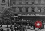Image of US 16th Armored Division in Pilsen Czechoslovakia Pilsen Czechoslovakia, 1945, second 58 stock footage video 65675077026