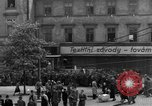 Image of US 16th Armored Division in Pilsen Czechoslovakia Pilsen Czechoslovakia, 1945, second 59 stock footage video 65675077026