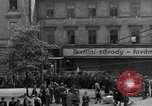 Image of US 16th Armored Division in Pilsen Czechoslovakia Pilsen Czechoslovakia, 1945, second 60 stock footage video 65675077026