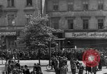 Image of US 16th Armored Division in Pilsen Czechoslovakia Pilsen Czechoslovakia, 1945, second 62 stock footage video 65675077026