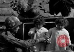 Image of American soldiers Pilsen Czechoslovakia, 1945, second 21 stock footage video 65675077027