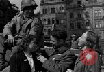 Image of American soldiers Pilsen Czechoslovakia, 1945, second 32 stock footage video 65675077027