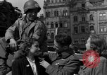 Image of American soldiers Pilsen Czechoslovakia, 1945, second 33 stock footage video 65675077027