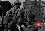 Image of American soldiers Pilsen Czechoslovakia, 1945, second 35 stock footage video 65675077027