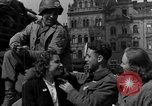 Image of American soldiers Pilsen Czechoslovakia, 1945, second 36 stock footage video 65675077027