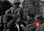 Image of American soldiers Pilsen Czechoslovakia, 1945, second 38 stock footage video 65675077027