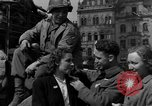Image of American soldiers Pilsen Czechoslovakia, 1945, second 39 stock footage video 65675077027