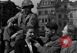 Image of American soldiers Pilsen Czechoslovakia, 1945, second 40 stock footage video 65675077027