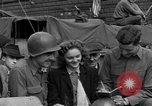Image of American soldiers Pilsen Czechoslovakia, 1945, second 43 stock footage video 65675077027