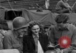Image of American soldiers Pilsen Czechoslovakia, 1945, second 44 stock footage video 65675077027