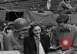 Image of American soldiers Pilsen Czechoslovakia, 1945, second 45 stock footage video 65675077027