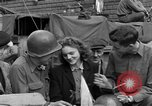 Image of American soldiers Pilsen Czechoslovakia, 1945, second 47 stock footage video 65675077027
