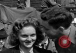 Image of American soldiers Pilsen Czechoslovakia, 1945, second 49 stock footage video 65675077027