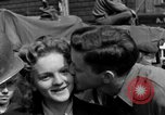 Image of American soldiers Pilsen Czechoslovakia, 1945, second 50 stock footage video 65675077027