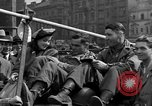 Image of American soldiers Pilsen Czechoslovakia, 1945, second 54 stock footage video 65675077027