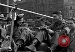 Image of American soldiers Pilsen Czechoslovakia, 1945, second 55 stock footage video 65675077027