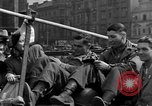 Image of American soldiers Pilsen Czechoslovakia, 1945, second 56 stock footage video 65675077027