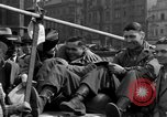 Image of American soldiers Pilsen Czechoslovakia, 1945, second 58 stock footage video 65675077027
