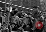 Image of American soldiers Pilsen Czechoslovakia, 1945, second 59 stock footage video 65675077027
