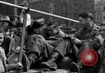 Image of American soldiers Pilsen Czechoslovakia, 1945, second 60 stock footage video 65675077027