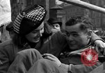 Image of American soldiers Pilsen Czechoslovakia, 1945, second 61 stock footage video 65675077027