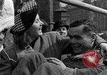 Image of American soldiers Pilsen Czechoslovakia, 1945, second 62 stock footage video 65675077027