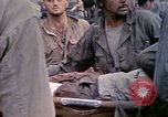 Image of wounded Marine Iwo Jima, 1945, second 7 stock footage video 65675077474