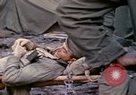 Image of wounded Marine Iwo Jima, 1945, second 11 stock footage video 65675077474