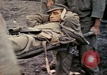 Image of wounded Marine Iwo Jima, 1945, second 49 stock footage video 65675077474