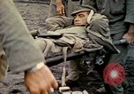 Image of wounded Marine Iwo Jima, 1945, second 50 stock footage video 65675077474