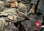 Image of wounded Marine Iwo Jima, 1945, second 51 stock footage video 65675077474