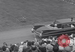 Image of St Lawrence Seaway opening ceremony speakers St Lambert Quebec Canada, 1959, second 23 stock footage video 65675078226