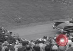 Image of St Lawrence Seaway opening ceremony speakers St Lambert Quebec Canada, 1959, second 24 stock footage video 65675078226
