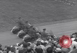 Image of St Lawrence Seaway opening ceremony speakers St Lambert Quebec Canada, 1959, second 25 stock footage video 65675078226