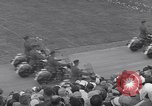 Image of St Lawrence Seaway opening ceremony speakers St Lambert Quebec Canada, 1959, second 27 stock footage video 65675078226