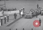 Image of St Lawrence Seaway opening ceremony speakers St Lambert Quebec Canada, 1959, second 36 stock footage video 65675078226
