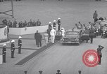 Image of St Lawrence Seaway opening ceremony speakers St Lambert Quebec Canada, 1959, second 37 stock footage video 65675078226