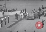Image of St Lawrence Seaway opening ceremony speakers St Lambert Quebec Canada, 1959, second 38 stock footage video 65675078226