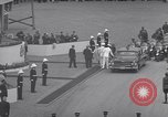Image of St Lawrence Seaway opening ceremony speakers St Lambert Quebec Canada, 1959, second 44 stock footage video 65675078226