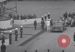 Image of St Lawrence Seaway opening ceremony speakers St Lambert Quebec Canada, 1959, second 45 stock footage video 65675078226